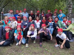 Детский лагерь международного проекта «Хорошее окружение»