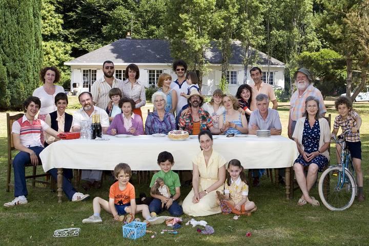 Семейное счастье. Встреча трех поколений