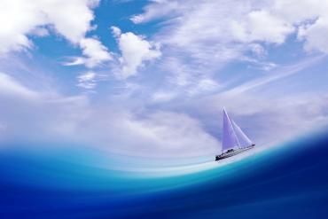 """на пути совершенствования духовной составляющей здоровья человека нужна лодка в океане под названием """"Намерение"""""""